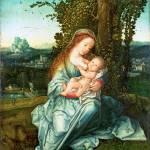 """Style of Bernaert van Orley - The Virgin and Child"" by ArtLoversOnline"