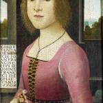 """Style of Domenico Ghirlandaio - Costanza Caetani"" by ArtLoversOnline"