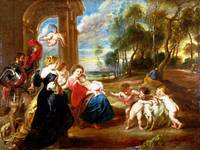 the Studio of Peter Paul Rubens - The Holy Family
