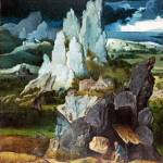 """the Workshop of Joachim Patinir - Saint Jerome in"" by ArtLoversOnline"