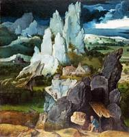 the Workshop of Joachim Patinir - Saint Jerome in
