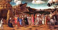 the Workshop of Giovanni Bellini - The Adoration o