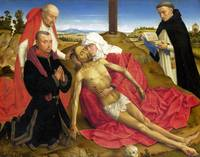 the Workshop of Rogier van der Weyden - Pieta