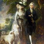 """Thomas Gainsborough - Mr and Mrs William Hallett ("" by ArtLoversOnline"