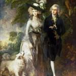 """Thomas Gainsborough - Mr and Mrs William Hallett ("" by ArtLoversOnline"