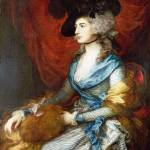"""Thomas Gainsborough - Mrs Siddons"" by ArtLoversOnline"