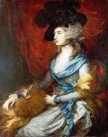 Thomas Gainsborough - Mrs Siddons
