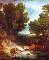 Thomas Gainsborough - The Watering Place