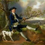 """Thomas Gainsborough - John Plampin"" by ArtLoversOnline"
