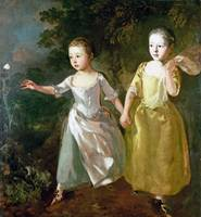 Thomas Gainsborough - The Painter's Daughters chas