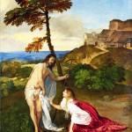 """""""Titian - Noli me Tangere"""" by ArtLoversOnline"""