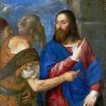 """Titian - The Tribute Money"" by ArtLoversOnline"