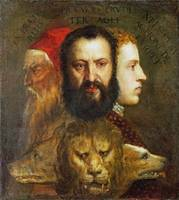 Titian and workshop - An Allegory of Prudence