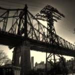 """59th Street Bridge and Tram"" by jeffwatts"