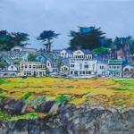 """Mendocino trypic"" by hitchcock"
