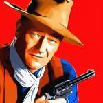 """John Wayne in Rio Bravo"" by ArtCinemaGallery"