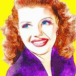 """140207_Rita Hayworth"" by ArtCinemaGallery"