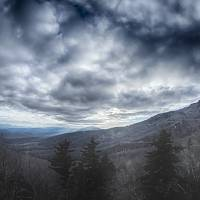 blue ridge mountain near blowing rock north caroli Art Prints & Posters by Alexandr Grichenko