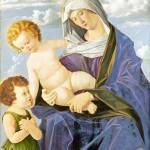 """Vincenzo Catena - The Madonna and Child with the I"" by ArtLoversOnline"