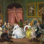 """William Hogarth - Marriage A-la-Mode - 4, The Toil"" by ArtLoversOnline"