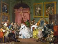 William Hogarth - Marriage A-la-Mode - 4, The Toil