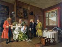 William Hogarth - Marriage A-la-Mode - 6, The Lady