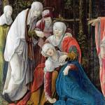 """Wolf Huber - Christ taking leave of his Mother"" by ArtLoversOnline"