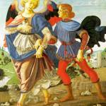"""Workshop of Andrea del Verrocchio - Tobias and the"" by ArtLoversOnline"