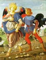 Workshop of Andrea del Verrocchio - Tobias and the