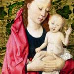 """Workshop of Dirk Bouts - The Virgin and Child"" by ArtLoversOnline"