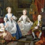 """William Hogarth - The Graham Children"" by ArtLoversOnline"