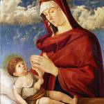 """""""Workshop of Giovanni Bellini - The Virgin and Chil"""" by ArtLoversOnline"""