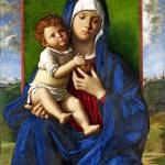 """Workshop of Giovanni Bellini - The Virgin and Chil"" by ArtLoversOnline"