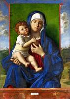 Workshop of Giovanni Bellini - The Virgin and Chil