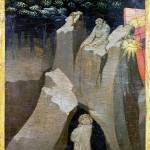 """Workshop of Lorenzo Monaco - Saint Benedict in the"" by ArtLoversOnline"