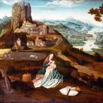 """Workshop of Joachim Patinir - Landscape with the R"" by ArtLoversOnline"