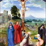 """Workshop of Quinten Massys - The Crucifixion"" by ArtLoversOnline"