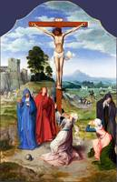 Workshop of Quinten Massys - The Crucifixion