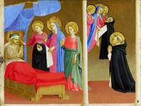 Workshop of Fra Angelico - The Vision of the Domin