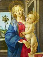 Workshop of Sandro Botticelli - The Virgin and Chi