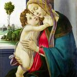 """Workshop of Sandro Botticelli - The Virgin and Chi"" by ArtLoversOnline"