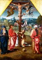 Workshop of the Master of 1518 - The Crucifixion