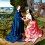 """Workshop of the Master of 1518 - The Visitation of"" by ArtLoversOnline"