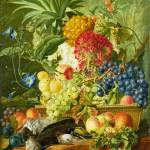 """Wybrand Hendriks - Fruit, Flowers and Dead Birds"" by ArtLoversOnline"