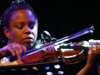 Regina Carter, playing