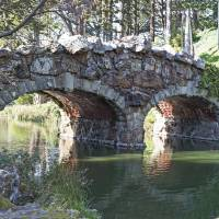 The Bridge at Stow Lake Art Prints & Posters by Sonja Norwood