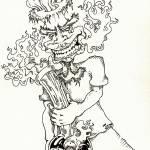 """""""BongHead"""" by RenfrewArt"""
