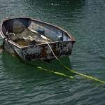 """Old Dinghy, Penzance Harbour (37852-RDA)"" by rodjohnson"