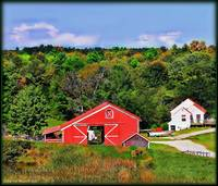 Autumn Maine Farm