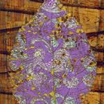 """Fantasy Paisley Leaf"" by ashjoielee"
